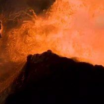 Volcán Kilauea de Hawái: cómo se ven desde el aire los amenazantes ríos de lava que se acercan a las casas