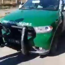 Carabineros cursa infracción a carroza fúnebre por no detenerse en un semáforo