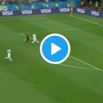 El error de Caballero que permitió el  gol de Croacia