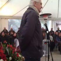 El emotivo homenaje de Mariano Puga en el funeral de Patricio Bustos