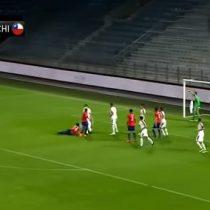 El gol de Maripán que le entregó el triunfo a Chile ante la mundialista Serbia