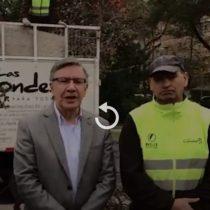Joaquín Lavín se reune con recolectores de basura que fueron insultados en Las Condes