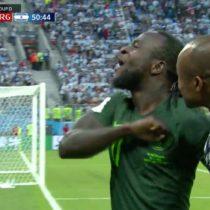 Rusia 2018: Gol de Nigeria pone el empate en el partido con Argentina