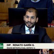 Diputado Garín acusa que Ponce Lerou es de facto un senador poderoso que nunca ha recibido un voto