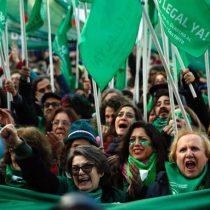 El momento exacto en que las argentinas se enteran de la votación del aborto