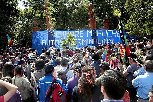 La autodeterminación mapuche será colectiva