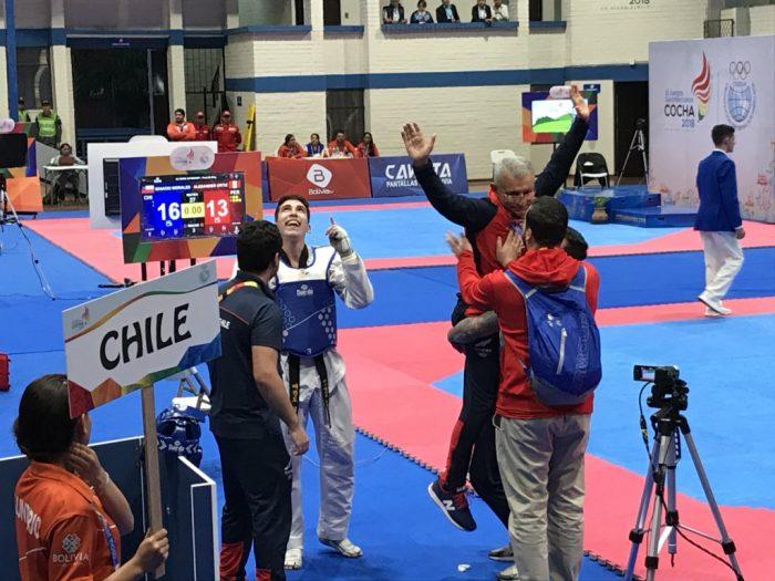 Ya son 32 para el Team Chile: Díaz Y Morales conquistaron el oro en Juegos Suramericanos