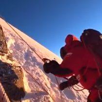 Osornino es el primer sudamericano en subir el Everest y Lhotse en una sola expedición