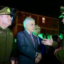Piñera supervisa desde La Pintana operativo policial extraordinario que dejó más de 4 mil personas detenidas