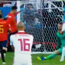Rusia 2018: El impresentable error de Ramos e Iniesta que le regaló el gol a Marruecos