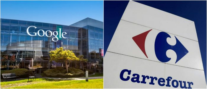 Google y Carrefour firman acuerdo para vender comestibles online