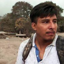 Volcán de Fuego en Guatemala: la desesperada búsqueda de un joven cuya familia desapareció con la erupción