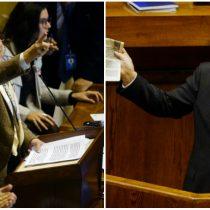 El duro enfrentamiento entre Hertz y Larraín en la Cámara: interpelación concluye sin punto de consenso