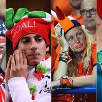 Rusia 2018: ¿A qué países apoyarán los aficionados de Chile, Italia, Holanda y Estados Unidos, los grandes ausentes en el Mundial?