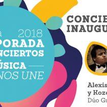 """Conciertos gratuito """"Música que nos une"""" en Municipal de Santiago"""