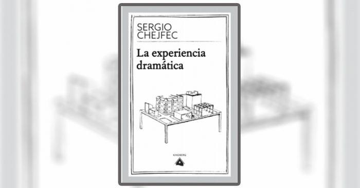 """Lanzamiento libro """"La experiencia dramática"""" de Sergio Chefjec en librería Catalonia"""