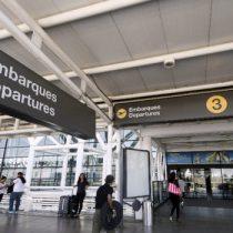 Cancelan en Chile vuelos desde y hacia Argentina por huelga general
