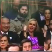 El grito de Florcita Motuda y el irónico aplauso de Pamela Jiles en pleno discurso