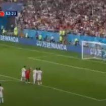 Rusia 2018: el momento en que el arquero de Irán le tapa un penal a Cristiano Ronaldo