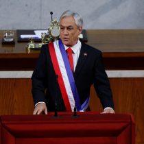 [CUENTA PÚBLICA] Piñera proclama la unidad pero golpea duro a Bachelet: