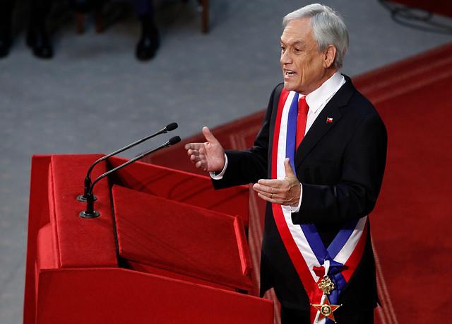 [CUENTA PÚBLICA] Piñera promete proyecto para regular ingreso al Servicio Público