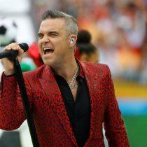 Con la presencia de Robbie Williams en la inauguración se dio el vamos al Mundial de Rusia 2018