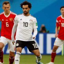 Rusia 2018: este fue el autogol de Egipto que deja a Rusia adelante