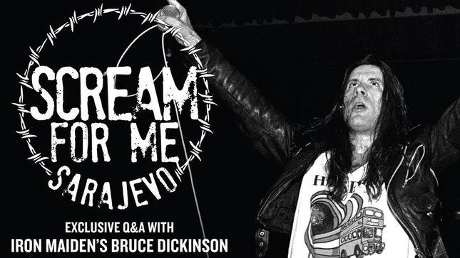 """Documental """"Scream for me Sarajevo"""": el épico concierto de Iron Maiden en medio de la guerra"""