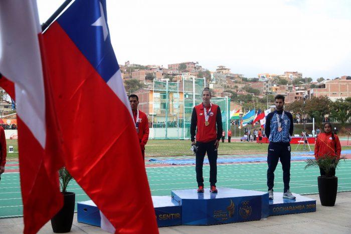 Team Chile logra una histórica cosecha de medallas tras finalizar quinto en los Juegos Suramericanos