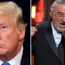 Trump se defiende de las críticas del protagonista de Toro Salvaje: Robert de Niro es