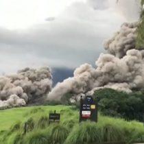 Erupción del Volcán de Fuego en Guatemala: