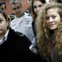 Liberan a Ahed Tamimi, la adolescente palestina que abofeteó a un soldado de Israel