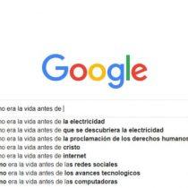 ¿Cómo era la vida antes de que existiera Google?