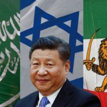 Cómo China ha logrado tener buenas relaciones con Irán, Israel y Arabia Saudita, tres enemigos mortales entre sí