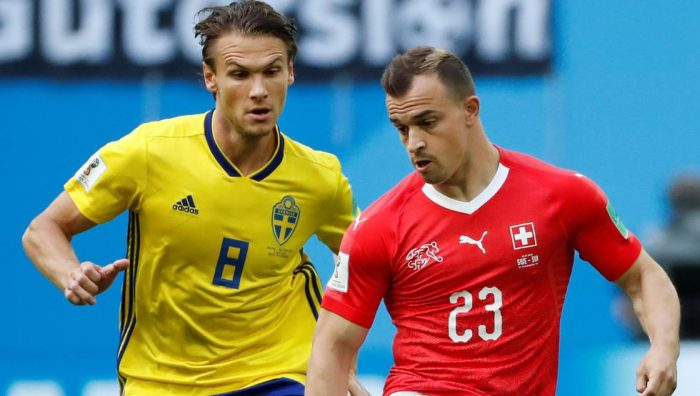 Suecia y Suiza, sin precisión, empatan 0-0 y se van al descanso