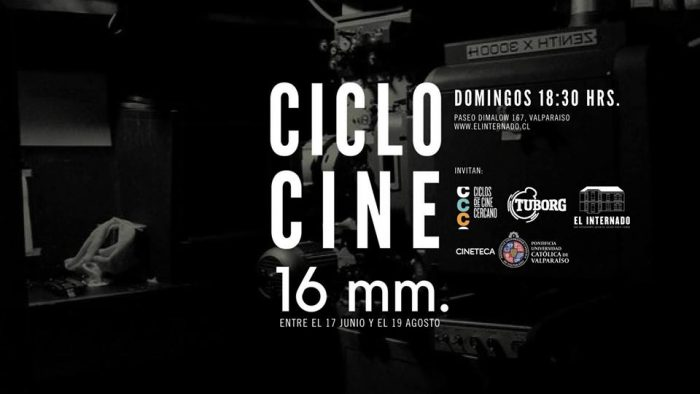 """Ciclo """"Cine en 16 mm"""" en El Internado"""