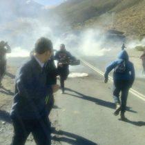"""""""Luksic style"""": Mano dura de Fuerzas Especiales contra manifestantes en Minera Los Pelambres"""