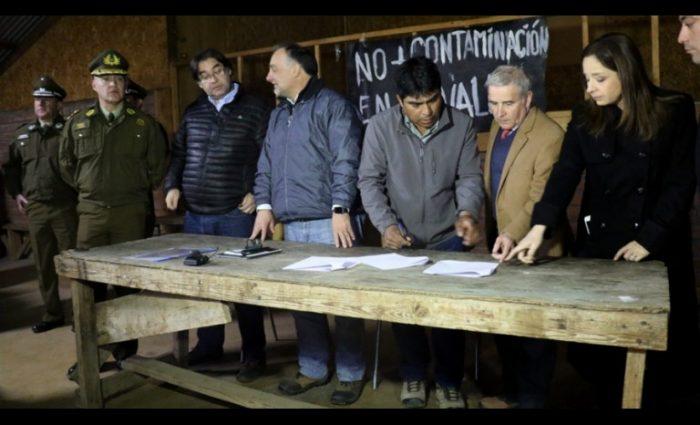 Acuerdo de Los Pelambres con Cuncumén: Dirigente dice que minera aceptó el 70% de sus demandas