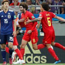 ¿El mejor partido del Mundial? Bélgica con un agónico gol elimina a Japón