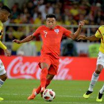 Primer tiempo: Colombia e Inglaterra no se hacen daño en último duelo de octavos de final
