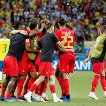 El gran favorito se despide de Rusia: Bélgica se impone a Brasil y firma su pase a semifinal