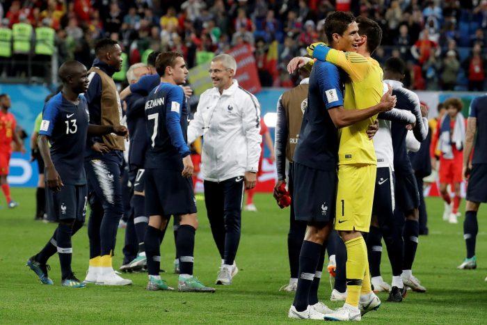 Francia derrota 1-0 a Bélgica y consigue su pase a la final de Rusia 2018