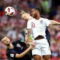 Inglaterra se va al descanso con un gol de ventaja y está más cerca de la soñada final