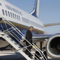 Falla en avión presidencial obligó a postergar visita de Piñera a Isla de Pascua