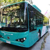Licitación del Transantiago: Postulantes deberán contar con al menos 15 buses eléctricos