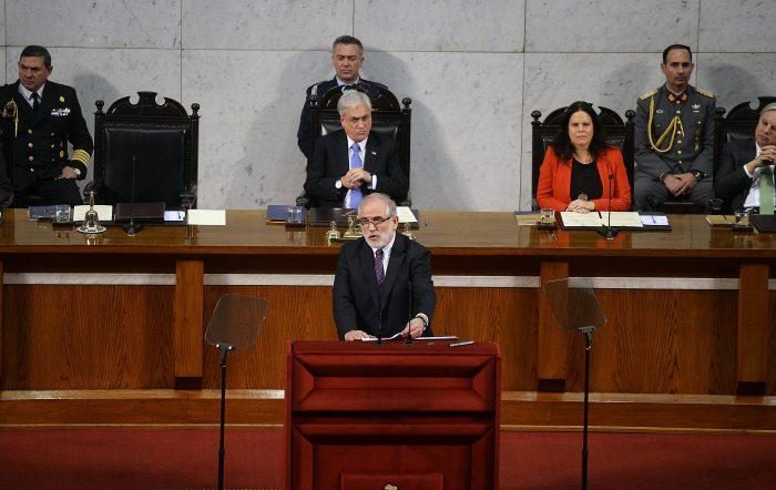 Presidentes de la Cámara y el Senado piden al Gobierno que respete al Congreso Nacional