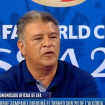 "[VIDEO] Repudio total contra Borghi por tratar de ""mongólico"" a Sampaoli"