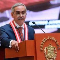 """""""Audios de la vergüenza"""" provocan caída del presidente de la Corte Suprema de Perú"""