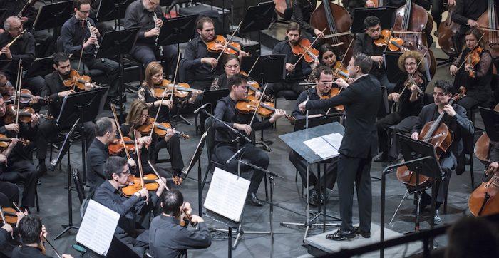 Concierto Orquesta Sinfónica Nacional dirigida por François López-Ferrer en Teatro Universidad de Chile