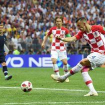 El golazo de Iván Perisic que mantiene en carrera por el título a Croacia
